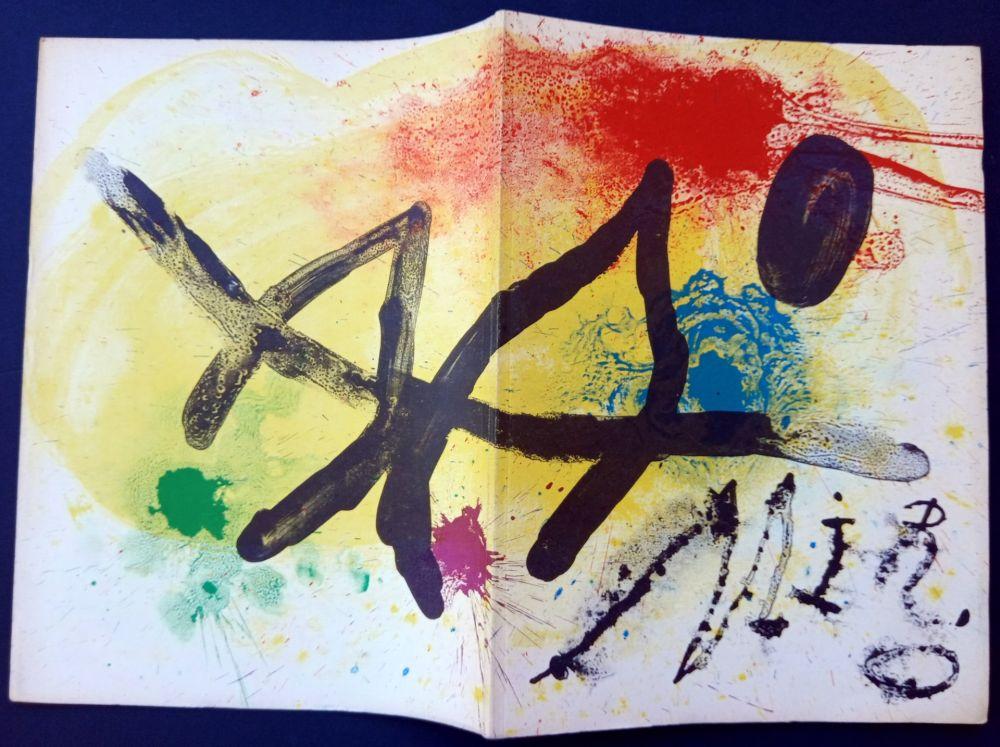 Illustrated Book Miró - JOAN MIRÒ. OEUVRE GRAPHIQUE ORIGINAL. CÉRAMIQUES - HOMMAGE MICHEL LEIRIS