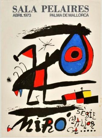 Poster Miró - Joan Miró - Sala Pelaires