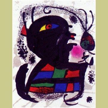 Illustrated Book Miró - Joan Miró Lithographs.  Catalogue Raisonné