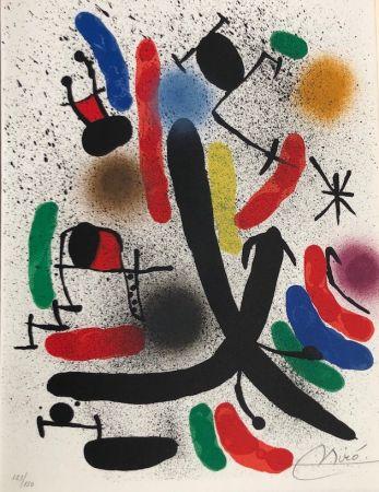 Lithograph Miró - Joan Miró Litografo I