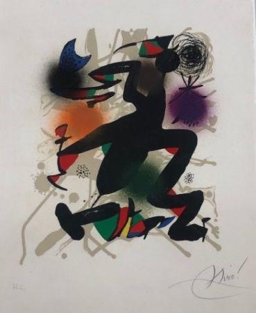 Lithograph Miró - Joan Miró Litografo III