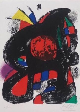 Lithograph Miró - Joan Miró Litografo IV