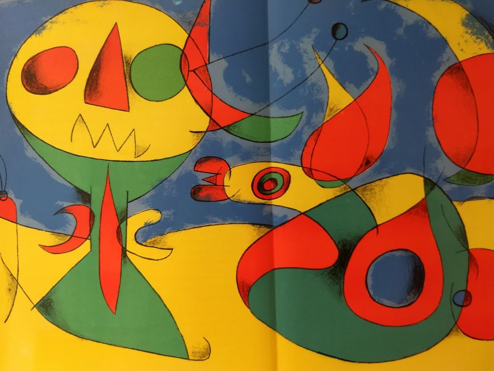 Illustrated Book Miró - Joan Miro