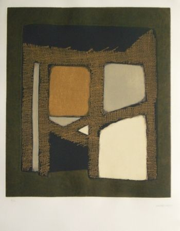 Etching And Aquatint Marca Relli - Joan Prats