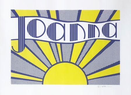 Lithograph Lichtenstein - Joanna (C. III.24)