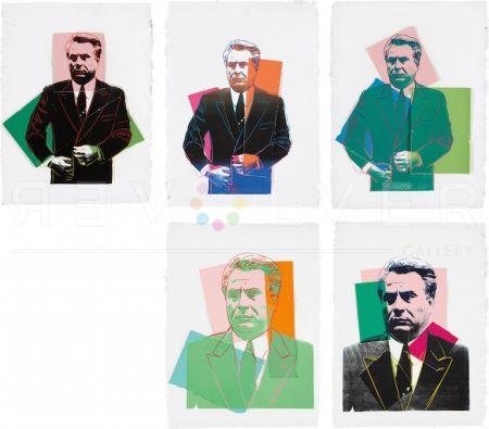 Screenprint Warhol -  John Gotti Complete Portfolio By Andy Warhol