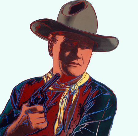Screenprint Warhol - John Wayne [Unique] (FS II.377)