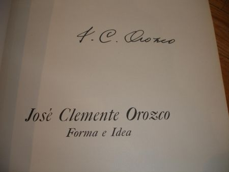 Illustrated Book Orozco - Jose Clemente Orozco. Forma e Idea.