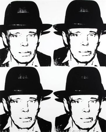 Screenprint Warhol - Joseph Beuys