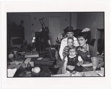 Multiple Freed  - Joseph Beuys and his Family in his Home in Oberkassel