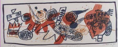 Lithograph Corneille - Journee feerique