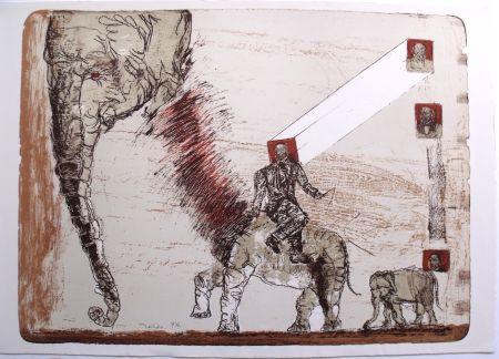 Lithograph Toledo - Juarez