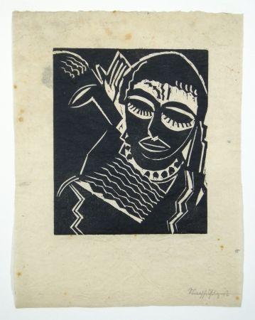 Woodcut Achmann - Judith und Holofernes I