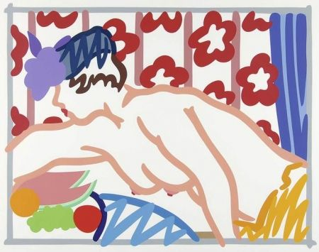 Lithograph Wesselmann - Judy Reaching Over the Table