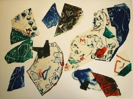Lithograph Voss - Jugendsünden