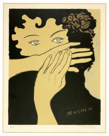 Lithograph Ray - Julie