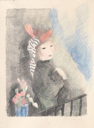 Lithograph Laurencin - Juliette