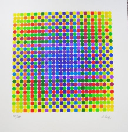 Screenprint Le Parc - Julio Le Parc - Jean Luis Pradel