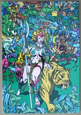 Screenprint Erro - Jungle Fever