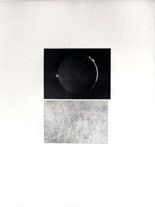 Etching Celmins - Jupiter Moon – Constellation