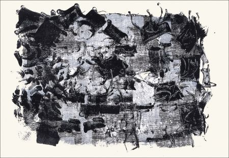 Lithograph Riopelle - Jute III