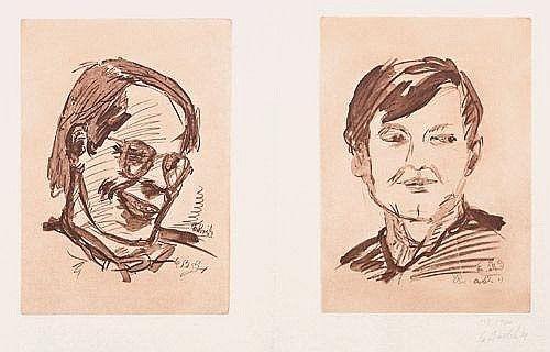 Multiple Baselitz - Kölner Kunstmarkt 1971
