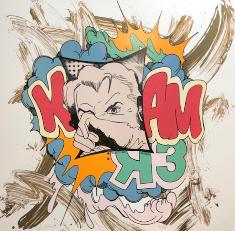 Screenprint Crash - K Bam