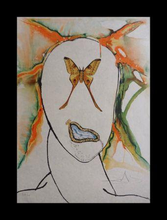 Lithograph Dali - Kabuki Dancer