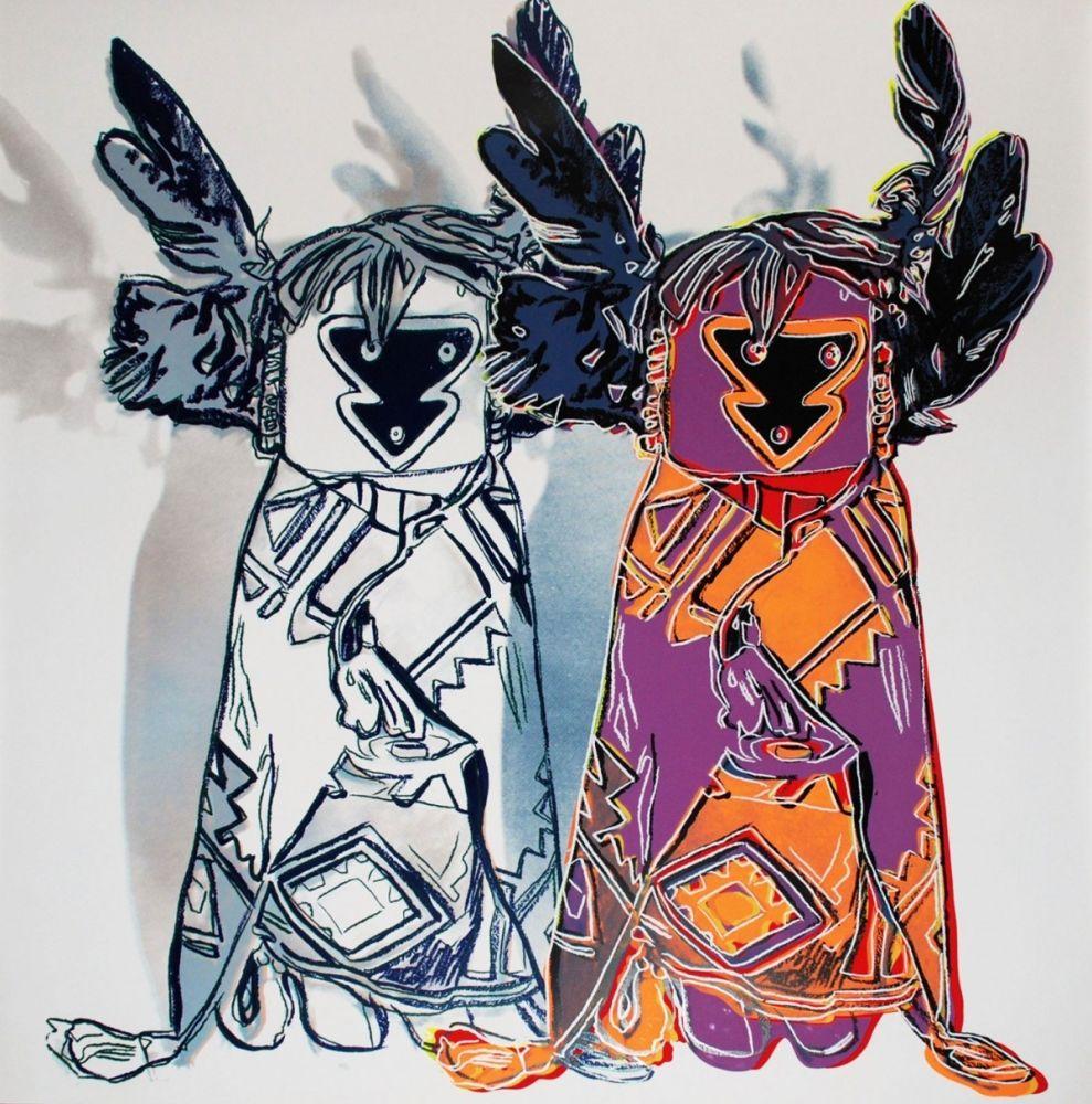 Screenprint Warhol - Kachina Dolls (FS II.381)