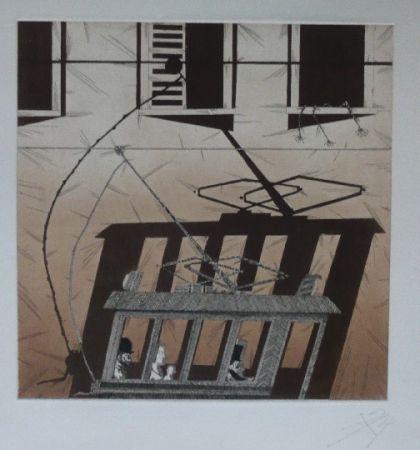 Lithograph Ponç - Kafka