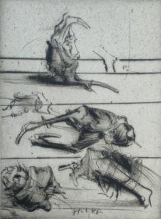 Engraving Dado - Kafka