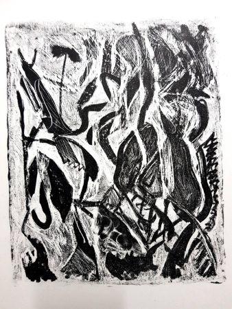 Lithograph Atlan - Kafka