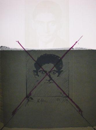 Lithograph Bru - Kafka
