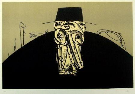 Lithograph Saura - Kafka