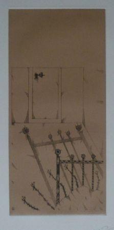 Lithograph Ponç - Kafka 10