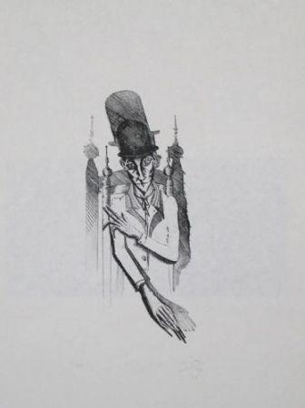 Lithograph Ponç - Kafka 7
