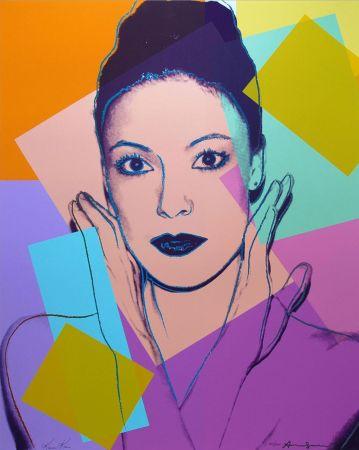 Screenprint Warhol - Karen Kain (FS II.236)