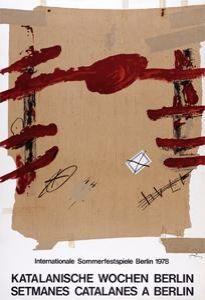 Poster Tàpies -