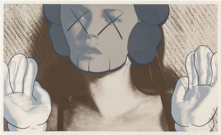 Screenprint Kaws - Kate Moss White Gloves is a Sreenprint by KAWS