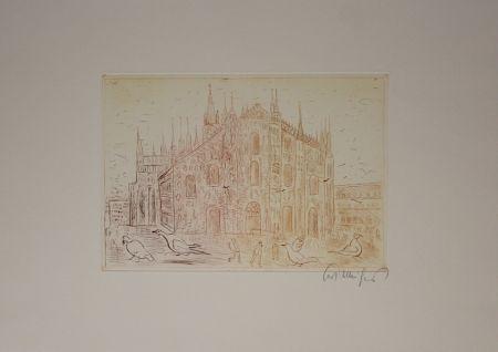 Etching Mühlenhaupt - Kathedrale