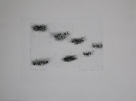 Drypoint Lakner - Keats