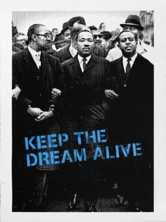 Multiple Mr Brainwash - Keep the Dream Alive