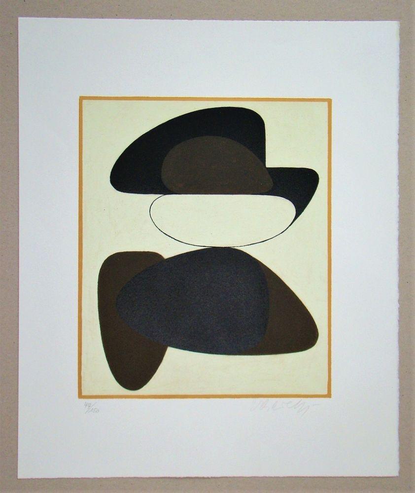 Lithograph Vasarely - Kerisle