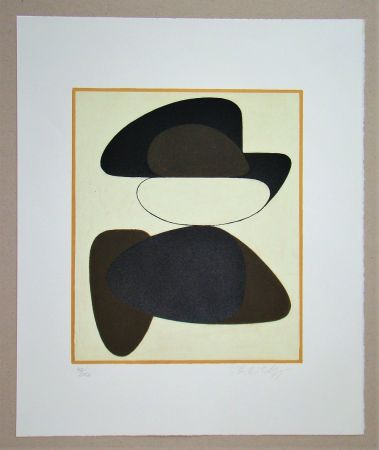 Lithograph Vasarely - Kerisle