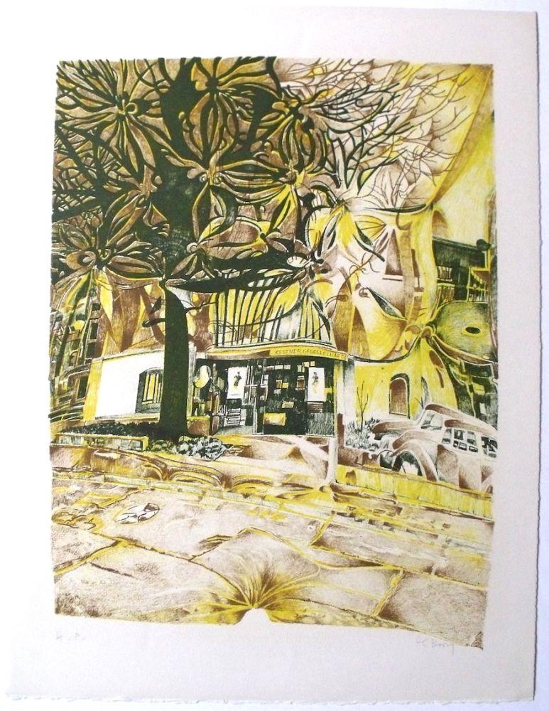 Lithograph Bury - Kestner gelsellschaft
