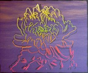Screenprint Warhol - Kiku Flower (FS.II.307)