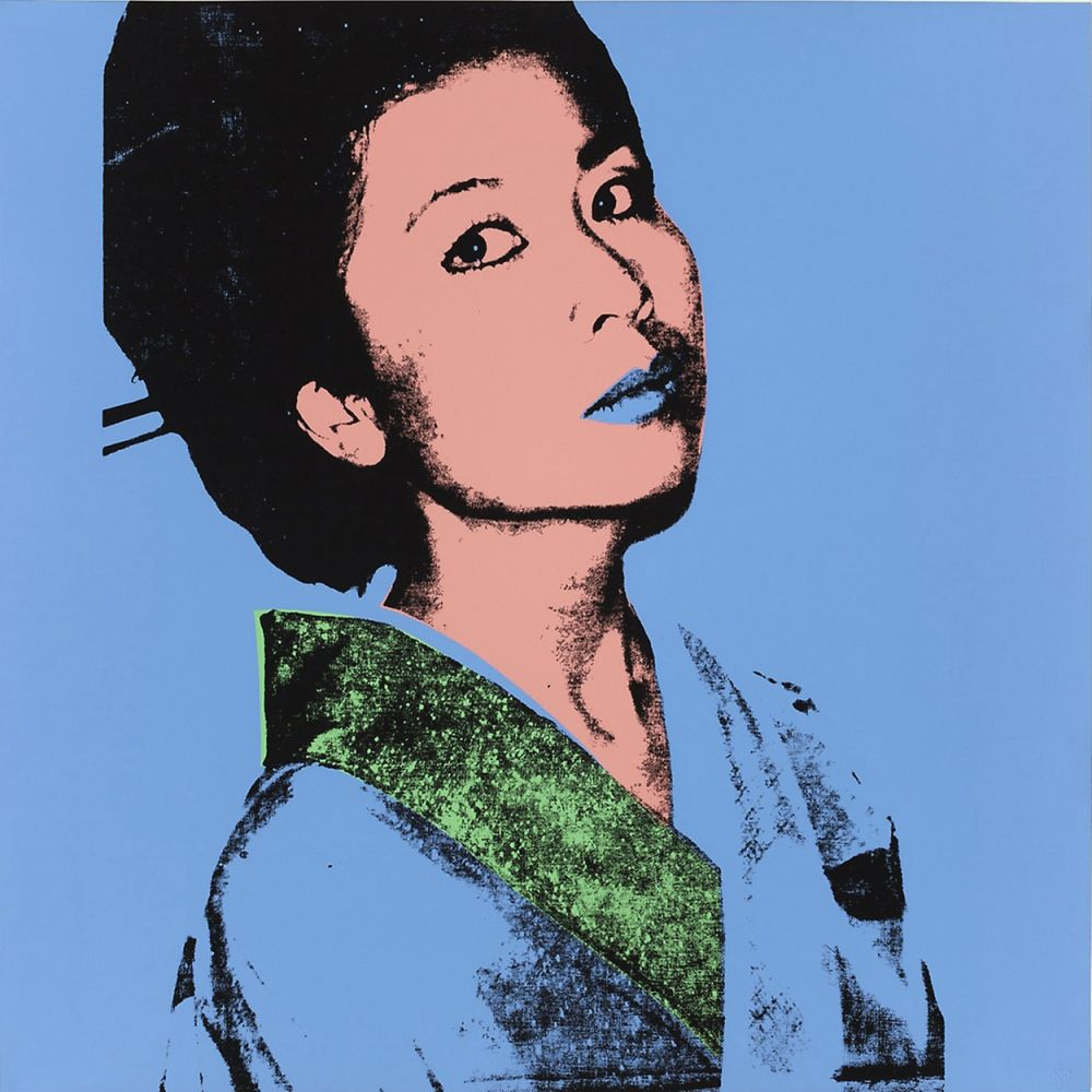 Screenprint Warhol - KIMIKO FS II.237