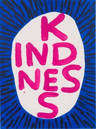 Screenprint Shrigley - Kindness