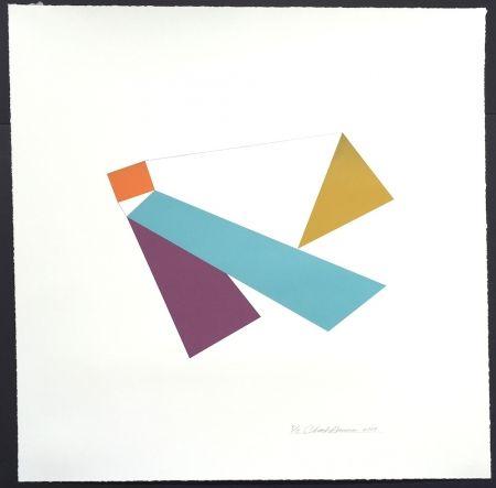 Screenprint Hinman - Kite, from Kites Suite