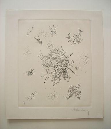 Drypoint Kandinsky - Kleine Welten X